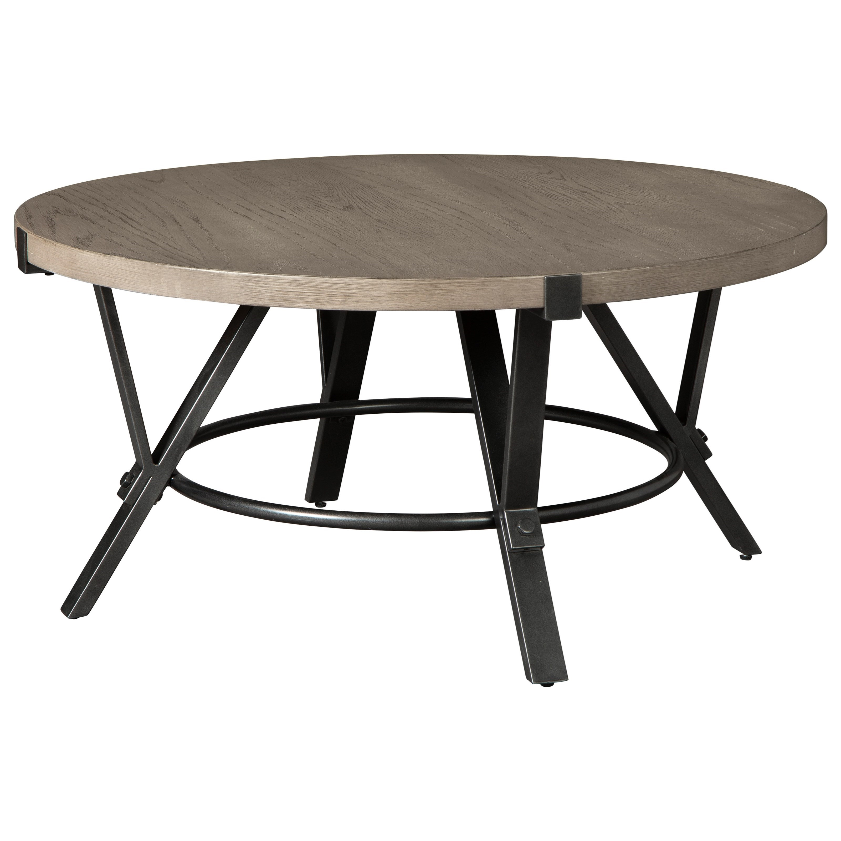 zontini round cocktail table