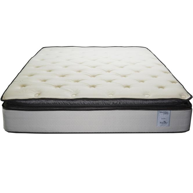 Solstice Sleep Products Veridian Verde Queen Pillow Top Mattress Set Item Number Pillowtop
