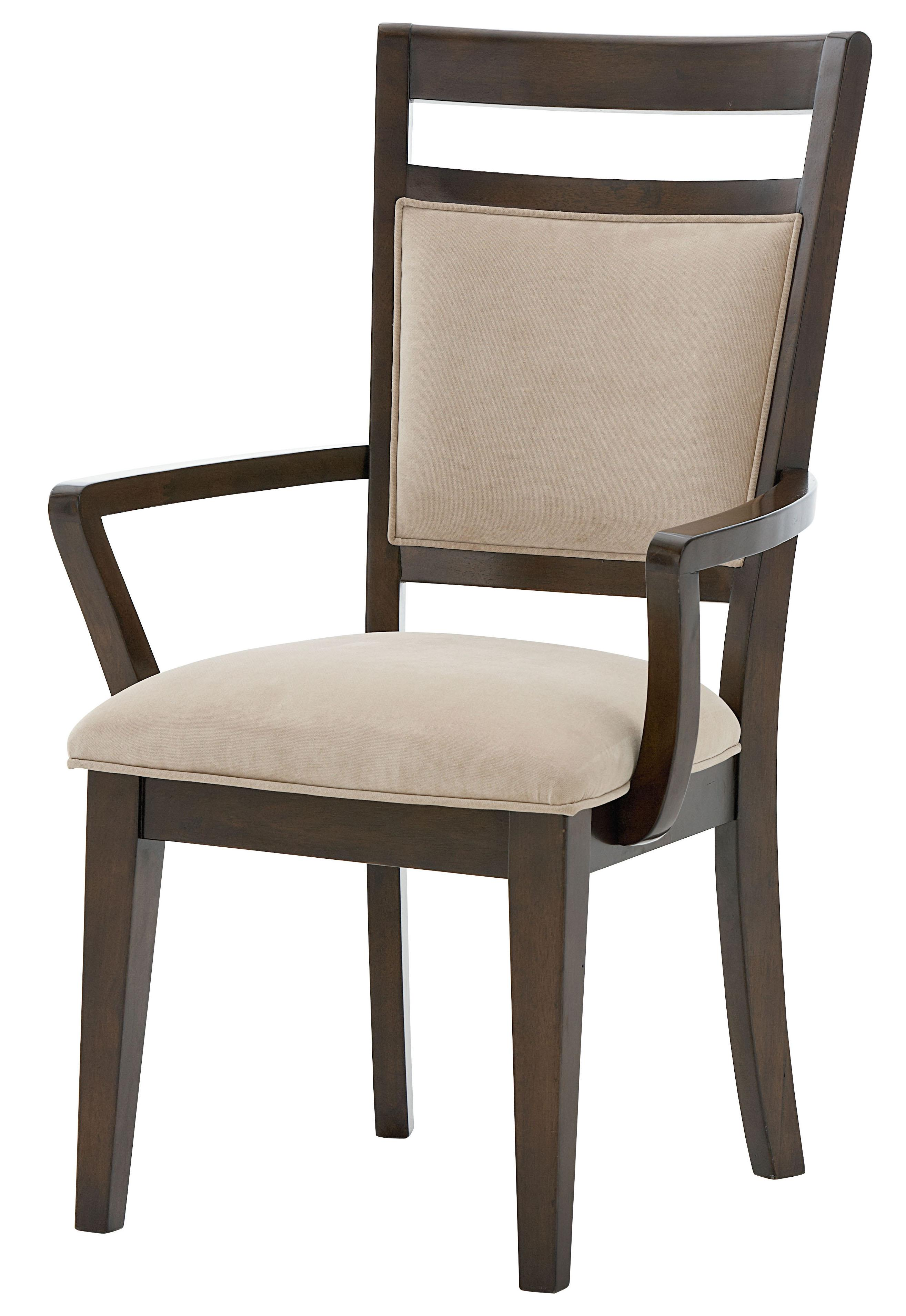 Standard Furniture Avion Arm Chair With Upholstered Seat