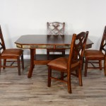 Sunny Designs Santa Fe 2 Rustic Dining Table Set For 4 Wayside Furniture Dining 5 Piece Sets