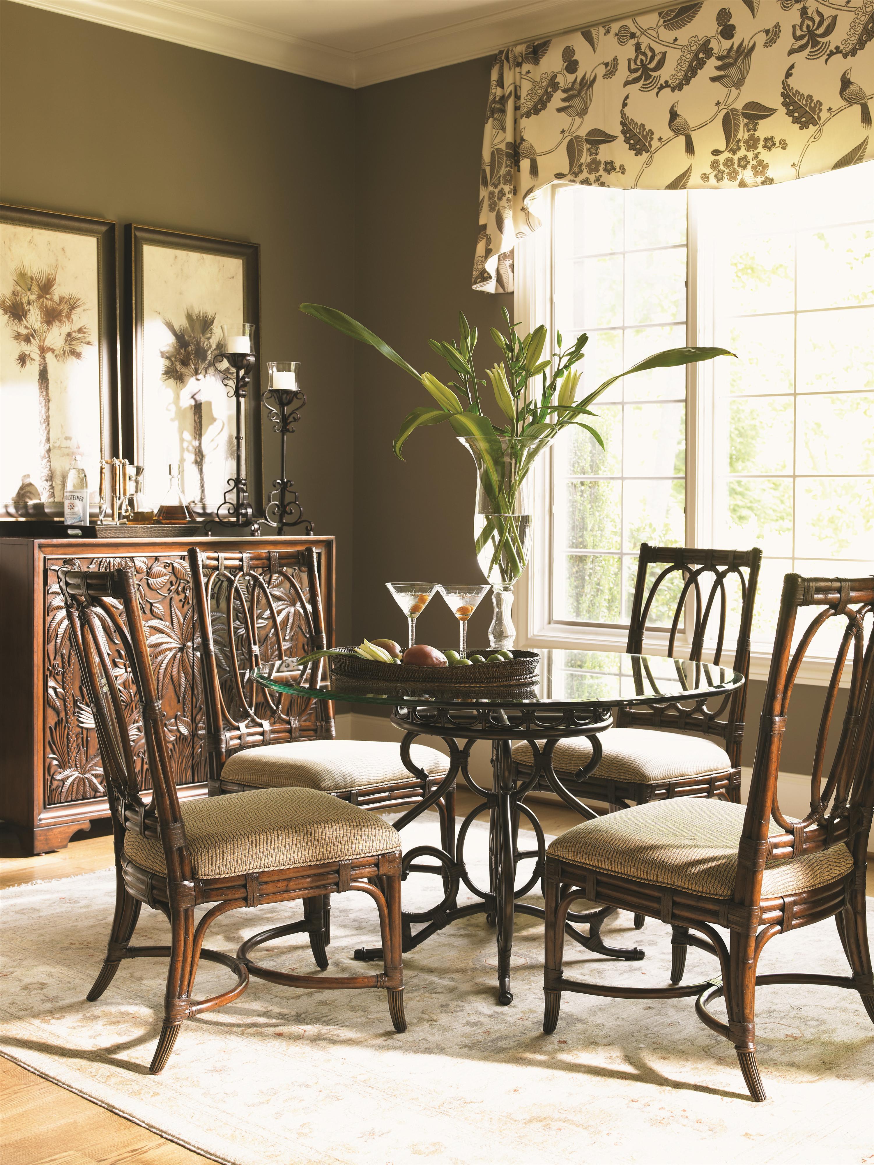 Tommy Bahama Home Landara 545 973 Balboa Tropical Carved