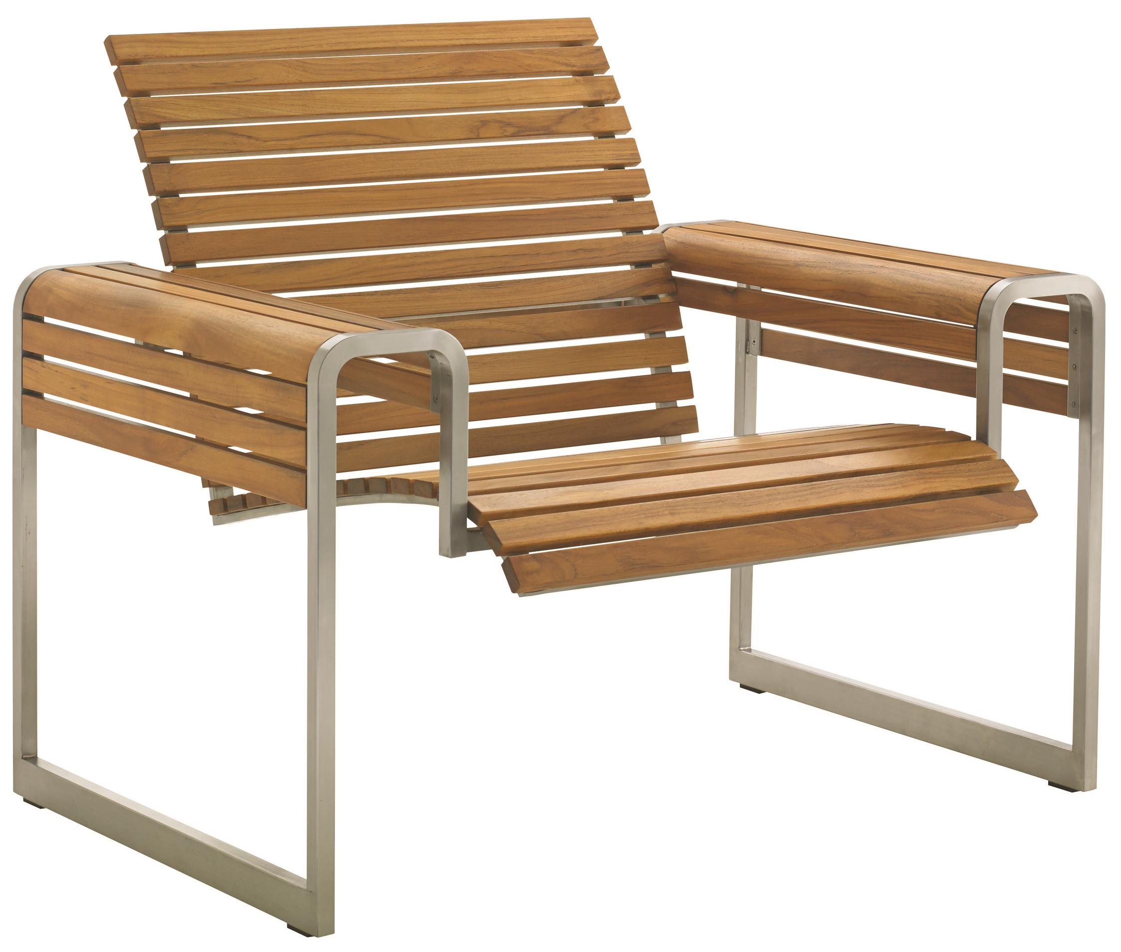 tres chic modern outdoor lounge chair