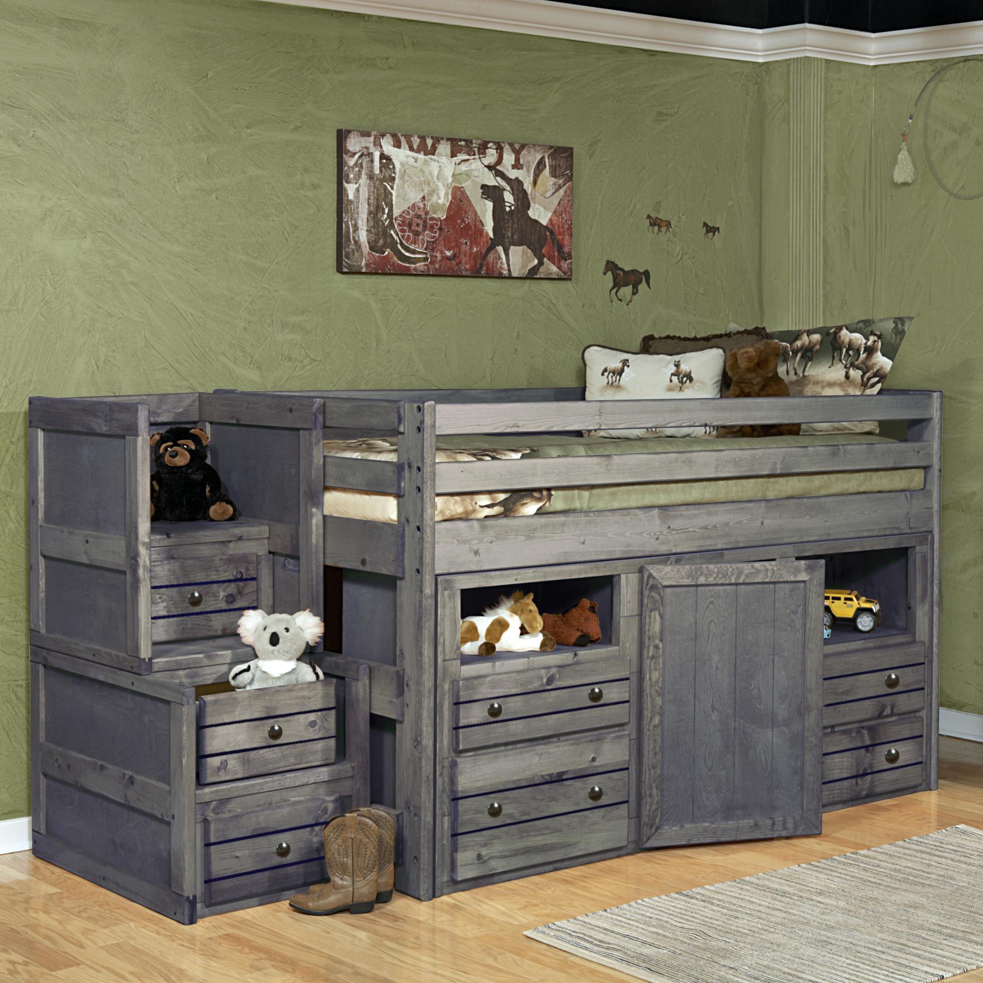 trendwood bayview junior loft bed w