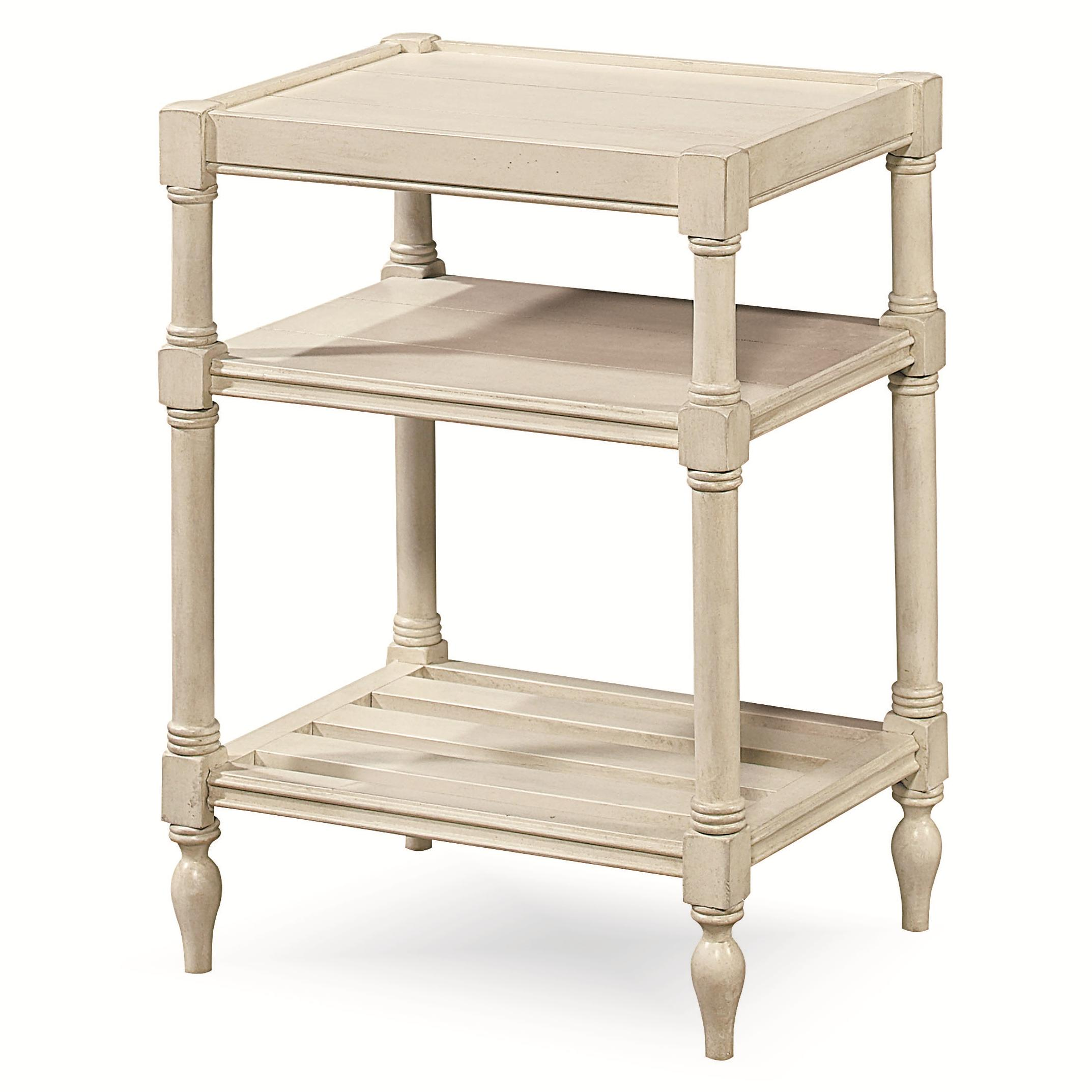 Universal Summer Hill 987817 Chair Side Table With 2