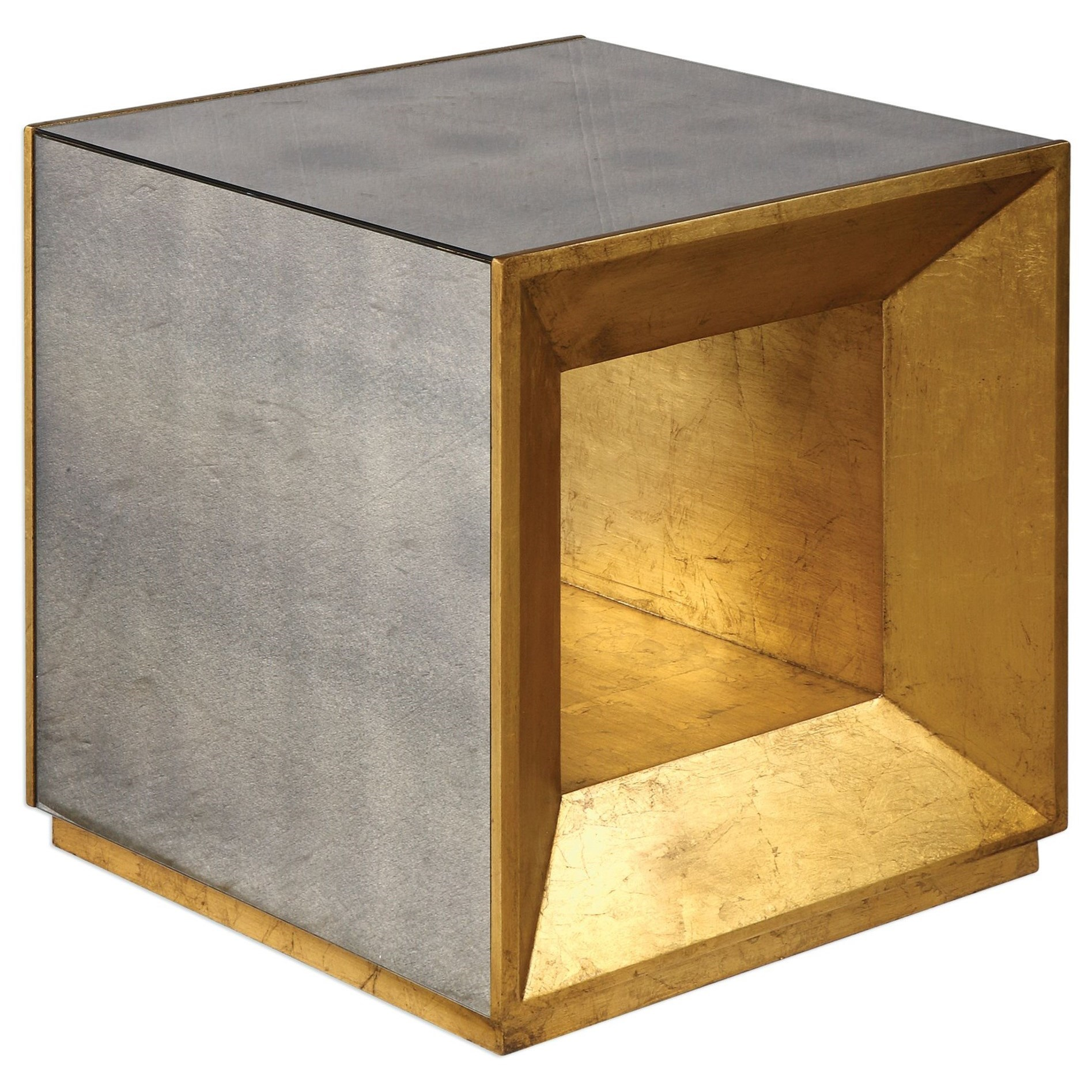 Uttermost Accent Furniture Occasional Tables Flair Gold