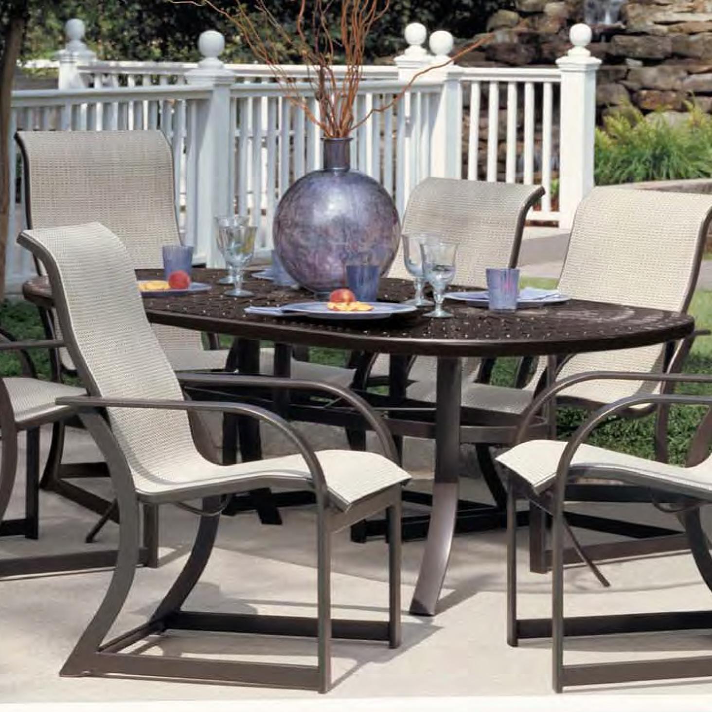winston cast aluminum tables 84