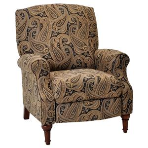 Lola High Leg Recliner With Contemporary Casual Style