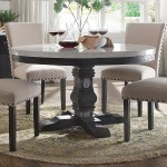Acme Furniture Nolan 72845 Round Pedestal Dining Table With White Marble Top Corner Furniture Dining Tables