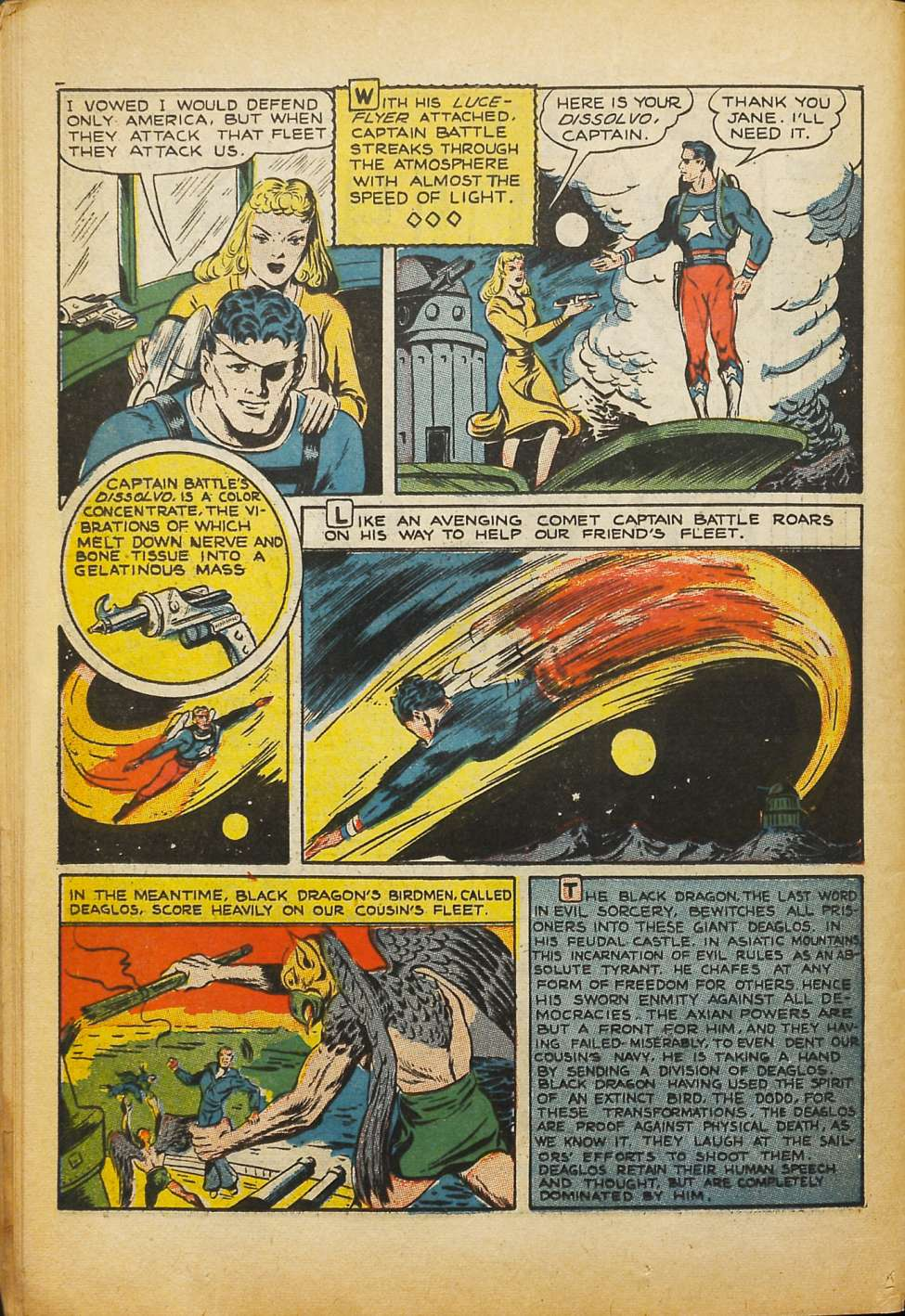 Comic Book Cover For Silver Streak Comics #10