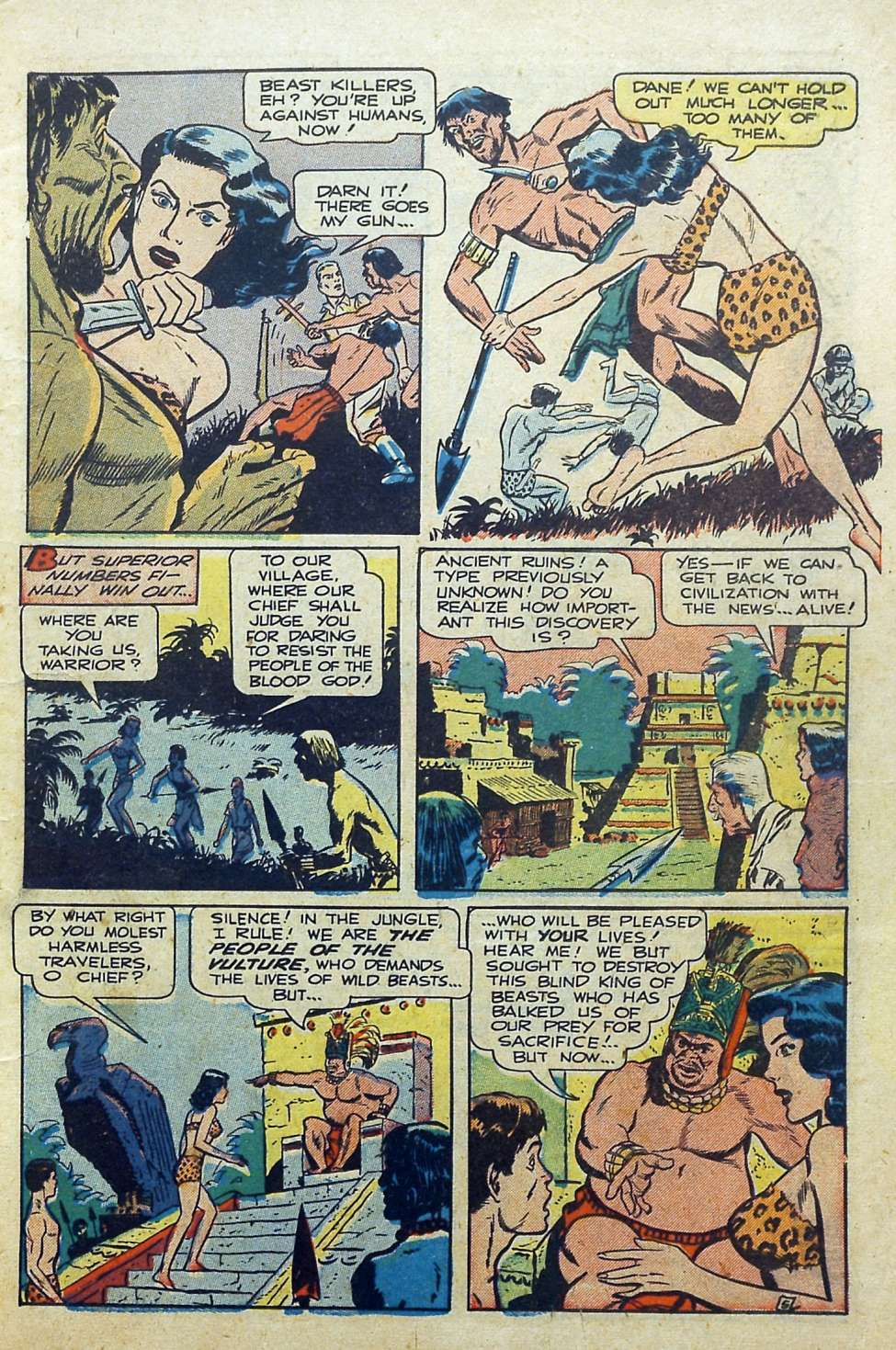 Comic Book Cover For Thrilling Comics #69 - Version 2