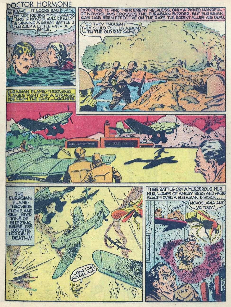 Comic Book Cover For Popular Comics #57 - Version 1