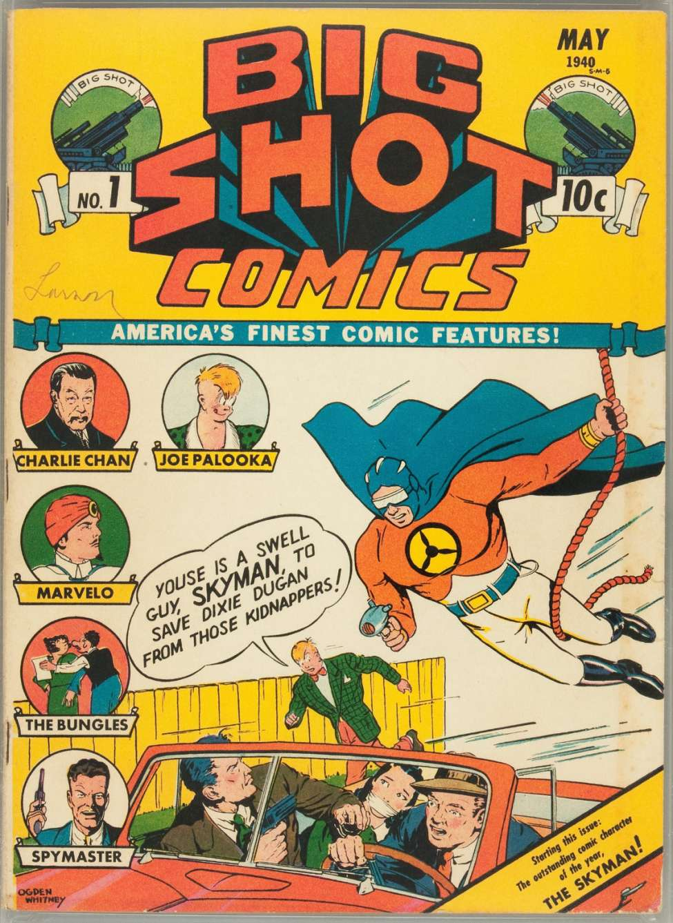 Comic Book Cover For Big Shot Comics #1 - Version 1