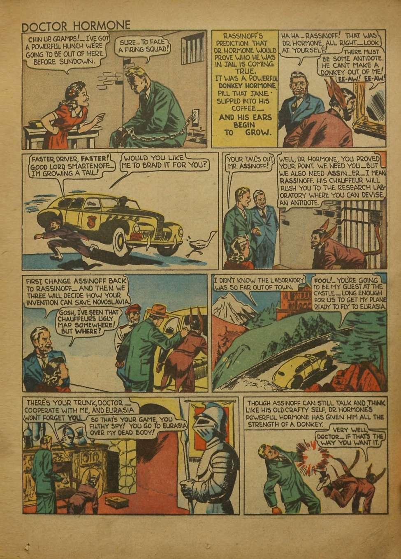 Comic Book Cover For Popular Comics #54 - Version 2
