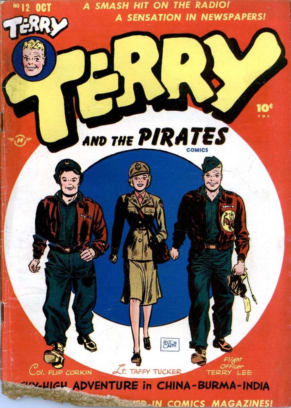 Image result for terry and the pirates