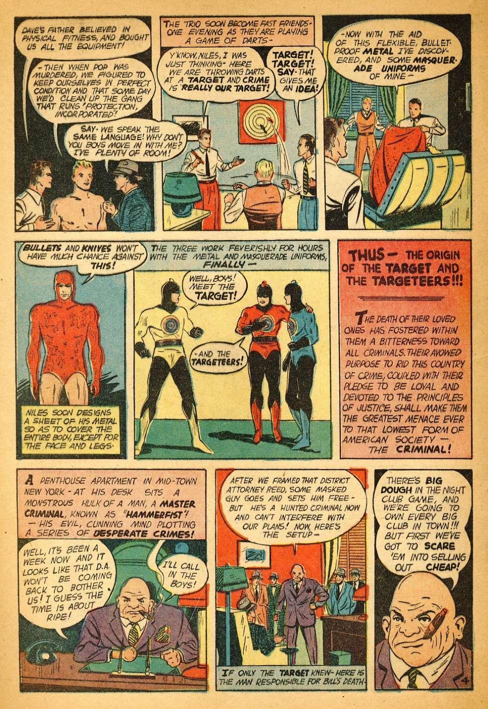 Comic Book Cover For Target Comics v1 11 [11]