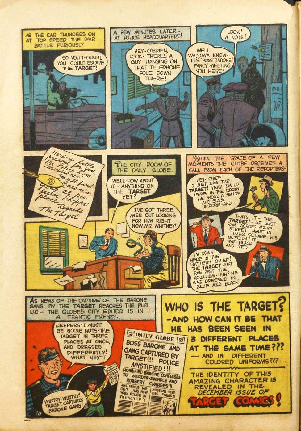 Comic Book Cover For Target Comics v1 10 [10]