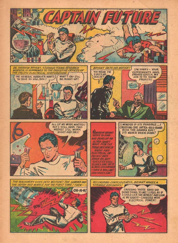 Comic Book Cover For Startling Comics v1 #1