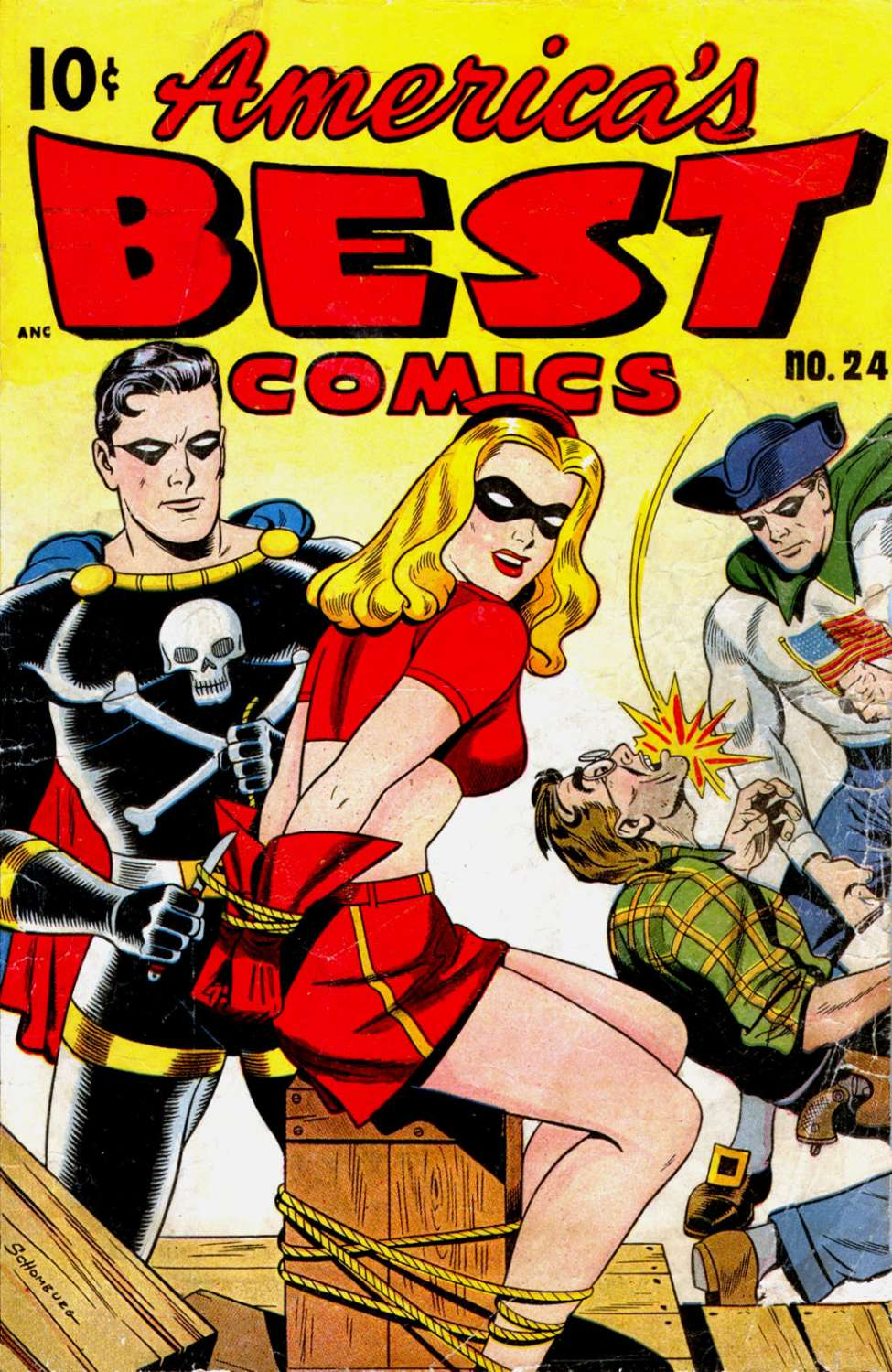 Comic Book Cover For America's Best Comics #24