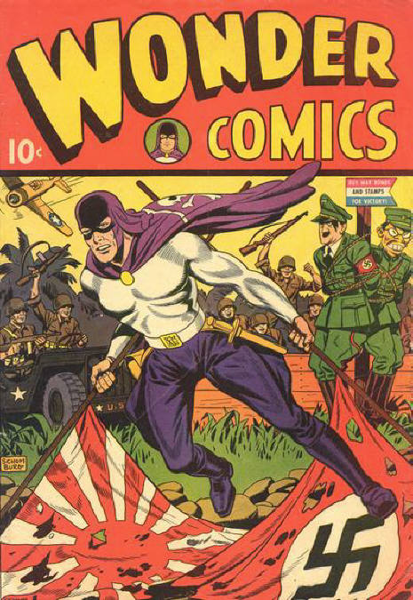 Comic Book Cover For Wonder Comics #1