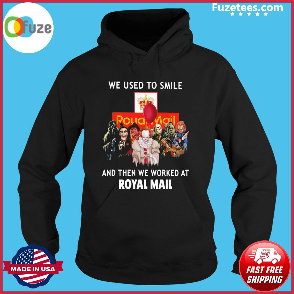 Sep 24, 2021· sep 24, 2021 0. Halloween 2021 Horror Movie Character We Used To Smile And We Worked At Royal Mail Logo Shirt ...