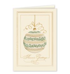 Seasons Greetings Berry Garden Holiday Card 740CX