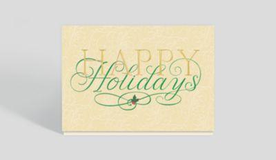 Nostalgic Firetruck Holiday Card 302428 Business