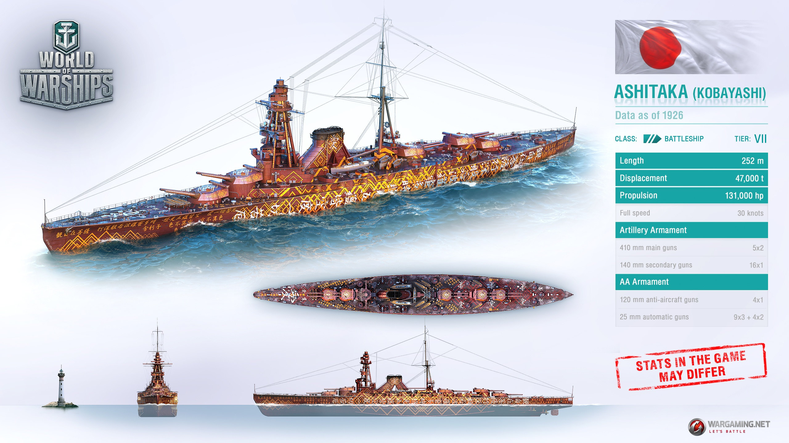 World Of Warships Gets A Ship That Never Was GameWatcher