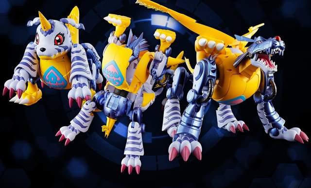 《數碼寶貝超進化魂》戰鬥暴龍獸&鋼鐵加魯魯完全變形帥呆啦