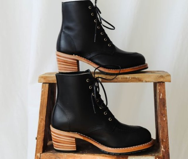 Red Wing Heritage Clara Boots Black Boundary
