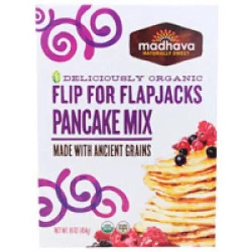 Madhava Honey Organic Pancake Mix with Ancient Grains