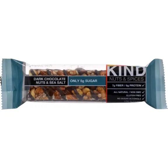 Kind Fruit and Nut Bars Dark Chocolate Nuts and Sea Salt