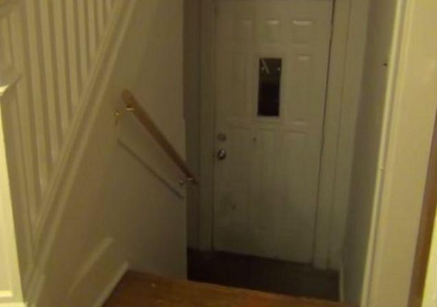 Image result for students discover stranger living in basement