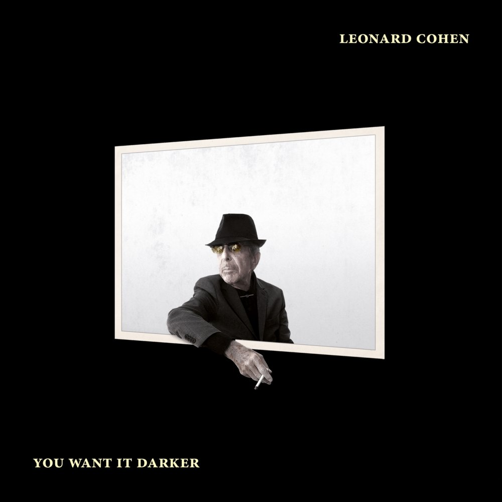 Bilderesultat for leonard cohen you want it darker