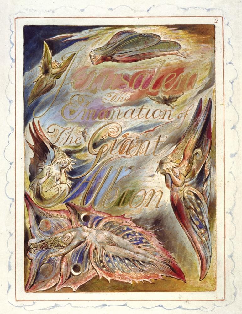 William Blake Ancient Days