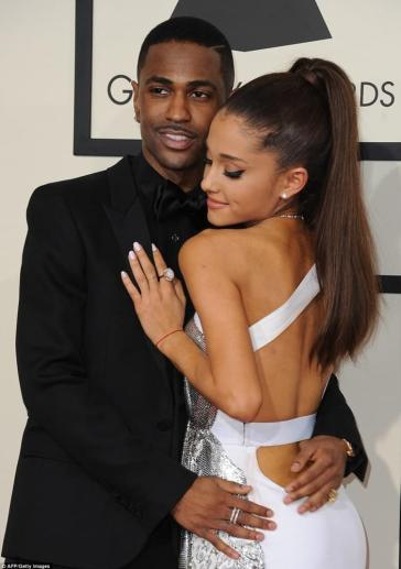 Ariana Grande and Big Sean in 2015