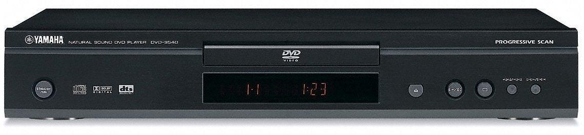 Yamaha Dvd S540 Player Manual