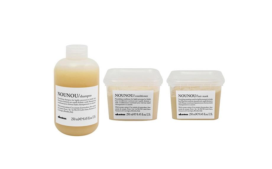 Nounou: nutriente per capelli sfruttati o aridi