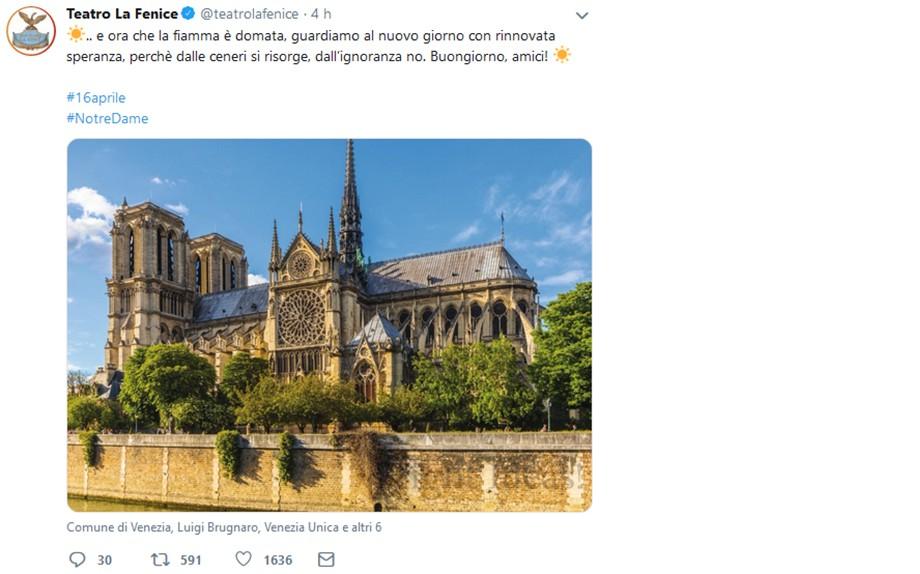 Notre Dame De Paris Dalle Ceneri Si Risorge Dall