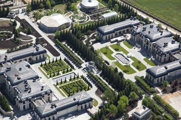 Друзья Путина выстроили роскошные дворцы под Москвой ...