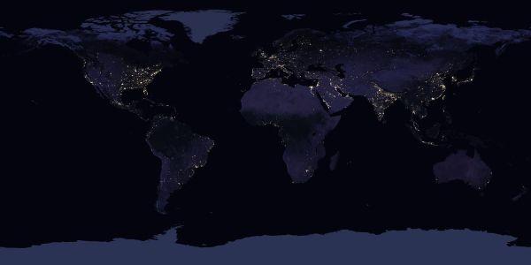 NASA показало уникальные новые фото и видео ночной Земли ...