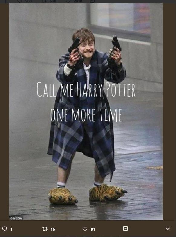 """""""Назови меня Гарри Поттером еще раз"""": Дэниэл Рэдклифф в ..."""