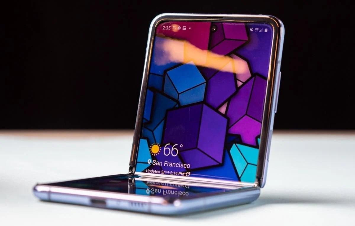 Galaxy Z Flip цена, фото, характеристики - Экран Samsung Galaxy Z ...