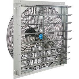 guard mount exhaust fan with shutter