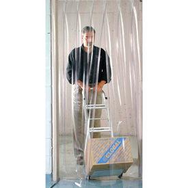 strip curtain strip door mounting