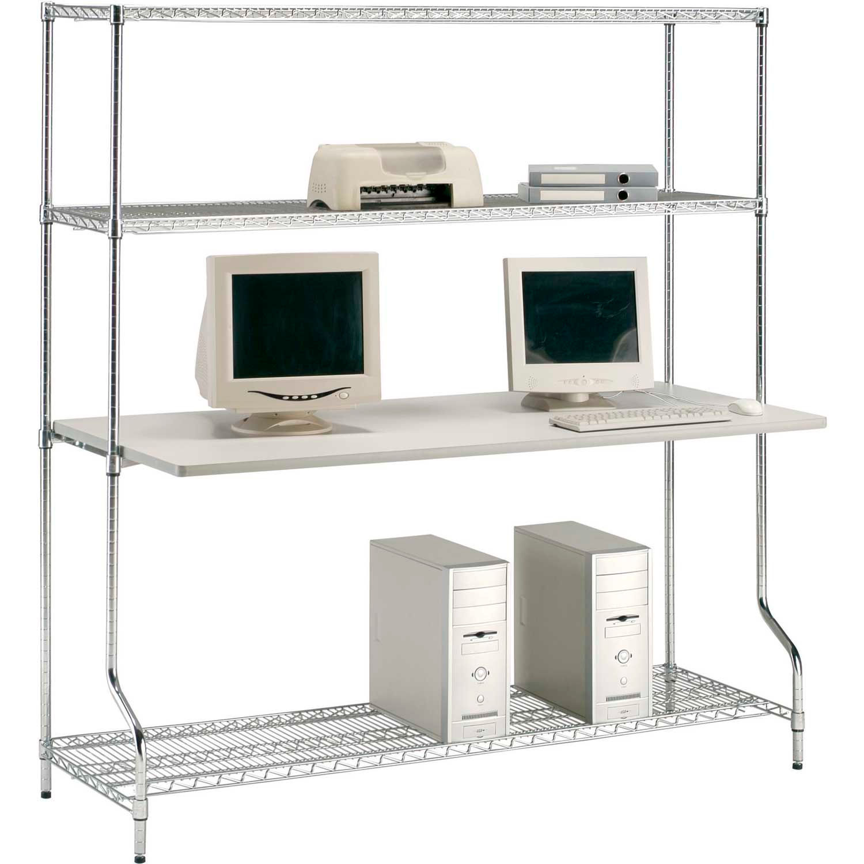 Computer Furniture Lan Stations Nexel 153 4 Shelf Wire