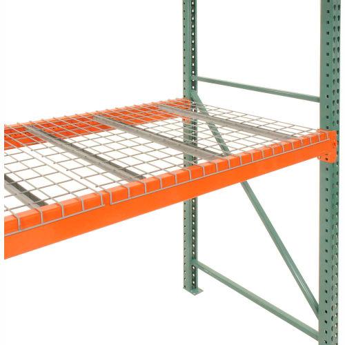 global industrial pallet rack wire decking 52 w x 48 d 2500 lbs cap gray