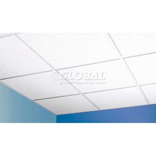 baroque mineral fiber ceiling tile bet 154 reveal edge 24 l 16 qty