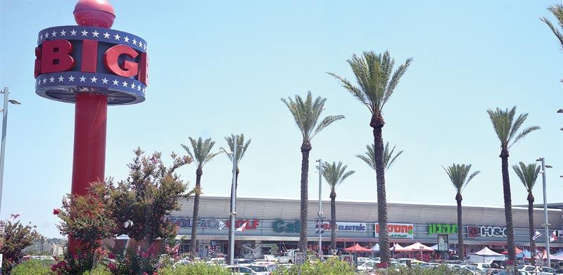 BIG shopping center (Photo: Tamar Matsafi)