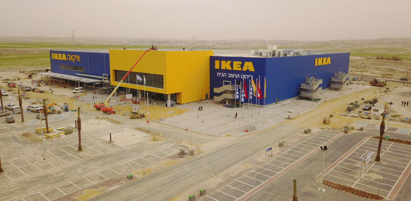 Ikea Beersheva Branch Begins Operations Globes