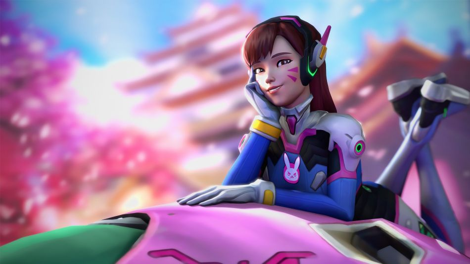 Dva Overwatch Hd Wallpaper 3840x2160 Gludy